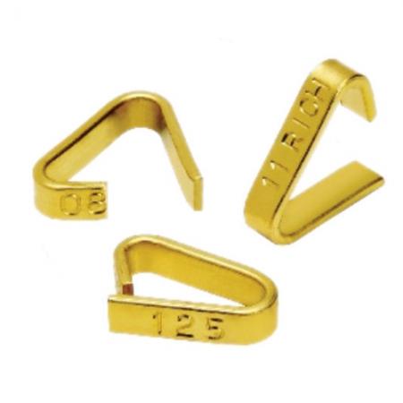 Ear Tag Brass